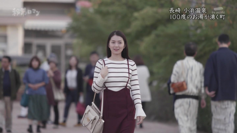 2018年12月2日テレビ朝日「披露ロマン」倉澤映枝さんのテレビキャプチャー画像-106