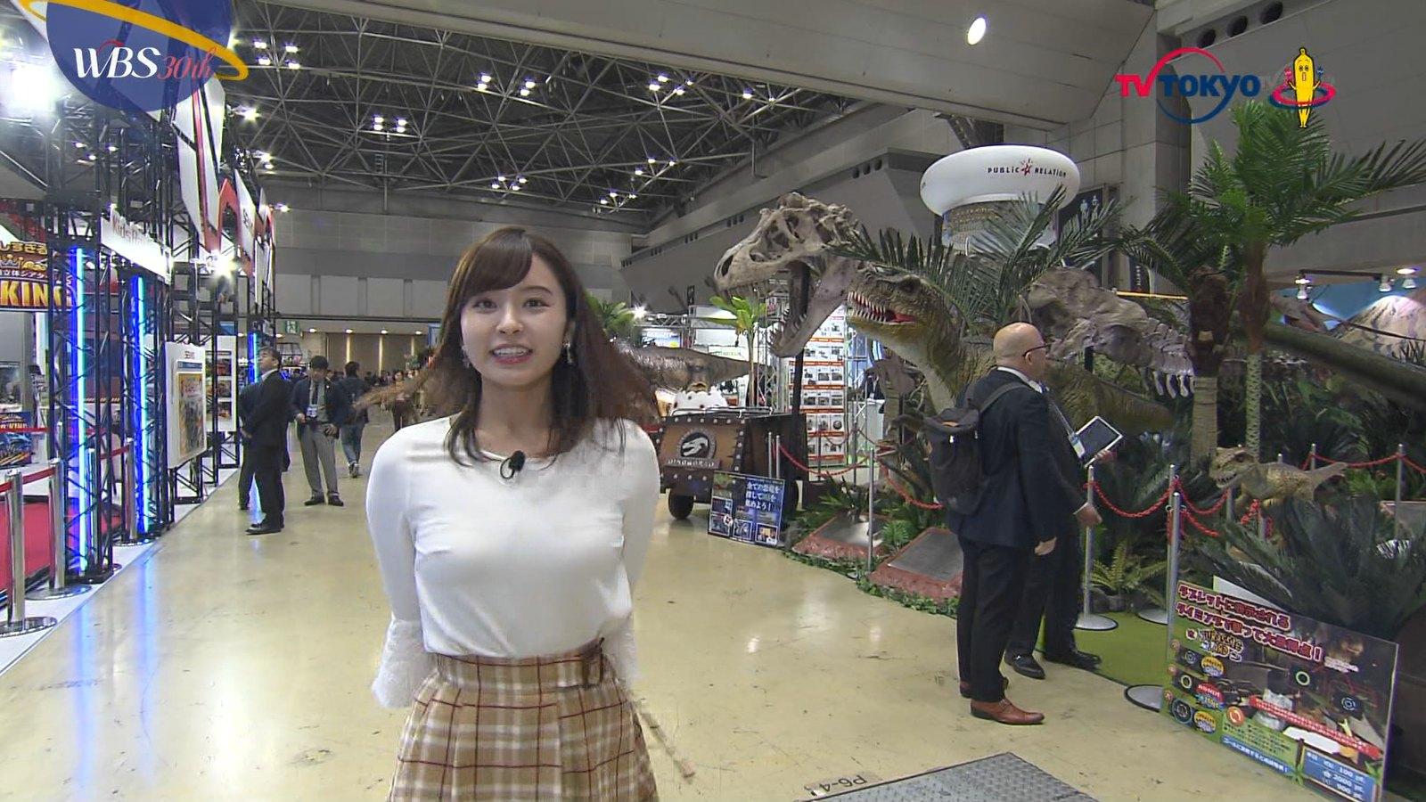 2018年12月6日テレ東『ワールドビジネスサテライト』角谷暁子さんのテレビキャプチャー画像-027