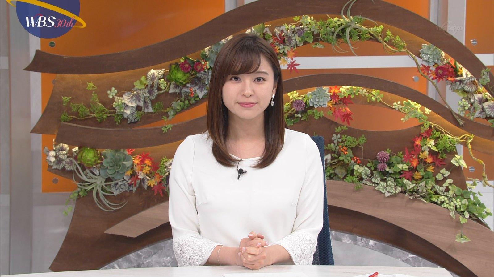 2018年12月6日テレ東『ワールドビジネスサテライト』角谷暁子さんのテレビキャプチャー画像-013