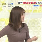 【画像】日本テレビ・スッキリの水卜麻美さん。ニットのおっぱいがパンパンでエチエチなお知らせ😍