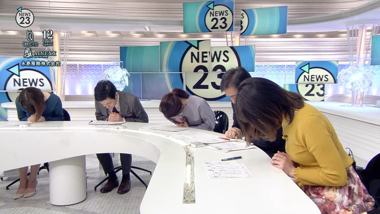 2018年12月19日TBS「NEWS23」出演・皆川玲奈さんのテレビキャプチャー画像-021