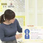 【画像】日本テレビ・水卜麻美さん、スッキリ!2018年最後の放送でナイスなエチエチニットおっぱい😍