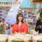 【画像】小嶋陽菜さん谷間ちょい見せと松村沙友理さんのニット着衣巨乳のおっぱい対決だった「馬好王国」?