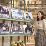 【画像】テレビ朝日「報道ステーション」の森川夕貴さん、おっぱいが熱盛気味でエチエチ😍