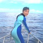 【画像】小島瑠璃子さん、BS日テレの番組でグアムの海をダイビング。丸いお尻と脱いだ背中がエッチ!w😍