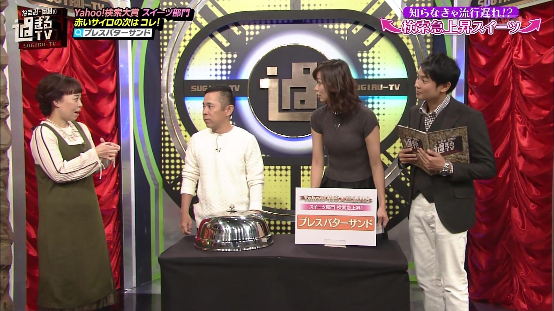 2019年1月6日朝日放送「なるみ・岡村の過ぎるTV」出演・斎藤真美さんのテレビキャプチャー画像-021