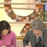【画像】ニュースウオッチ9の桑子真帆さん、横乳もエッチでありつつもお辞儀すると手に乗っかるおっぱいがドエロい😍