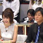 【画像】餅田コシヒカリさんのピアノ演奏も見届けたTEPPEN・加藤綾子さんの白ドレスツンツンおっぱい?