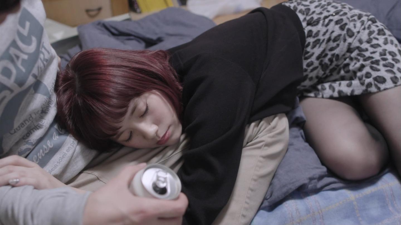 2019年1月13日MBS「ゆうべはお楽しみでしたね」本田翼さんと筧美和子さんのテレビキャプチャー画像-040