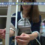 【画像】沖縄から上京した22歳の上京ガールさん、派手目なブラジャーがスケスケな格好で出演?