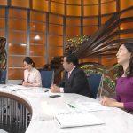 【画像】壁ドンボックス内での片渕茜さんとのおっぱいの距離感にドキドキなワールドビジネスサテライト・トレンドたまご?