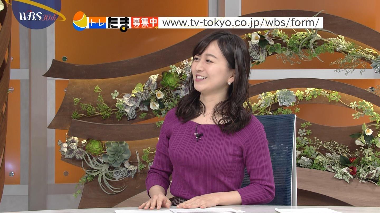 2019年1月21日・テレビ東京「ワールドビジネスサテライト」出演・片渕茜さんのテレビキャプチャー画像-055