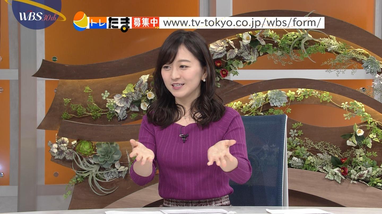 2019年1月21日・テレビ東京「ワールドビジネスサテライト」出演・片渕茜さんのテレビキャプチャー画像-053