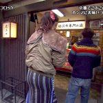 【画像】ごぶごぶ出演、高橋メアリージュンさんお高橋ユウさんのお尻がエッチな京都の美味しいコロッケ探し😍