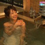 【画像・GIF】中村静香さん、BSフジ「わがまま!気まま!旅気分」で入浴シーンを見せるもオニデカいバスタオルですべてを隠す?