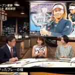 【画像】NHK・副島萌生さんの内側から押し出しているようなおっぱいの膨らみが丸くてエッチなサンデースポーツ2020?