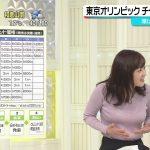 【画像】日テレ・水卜麻美さんのむっちりボディにフワっと膨らむニットおっぱいに顔面ダイブしたい😻