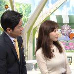 【画像】TOKYO MX「ひるキュン!」の田中みな実さん、白いニットの存在感満点おっぱいがエチエチ😍
