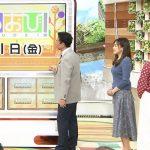 【画像】TBS女性アナウンサー・江藤愛さんの2つの丸みを感じるニットおっぱいがエチエチなひるおび!?