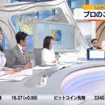 【画像】テレビ東京・モーニングサテライト、画面左でパツンとエチエチな張りを見せる角谷暁子さんのおっぱい😍