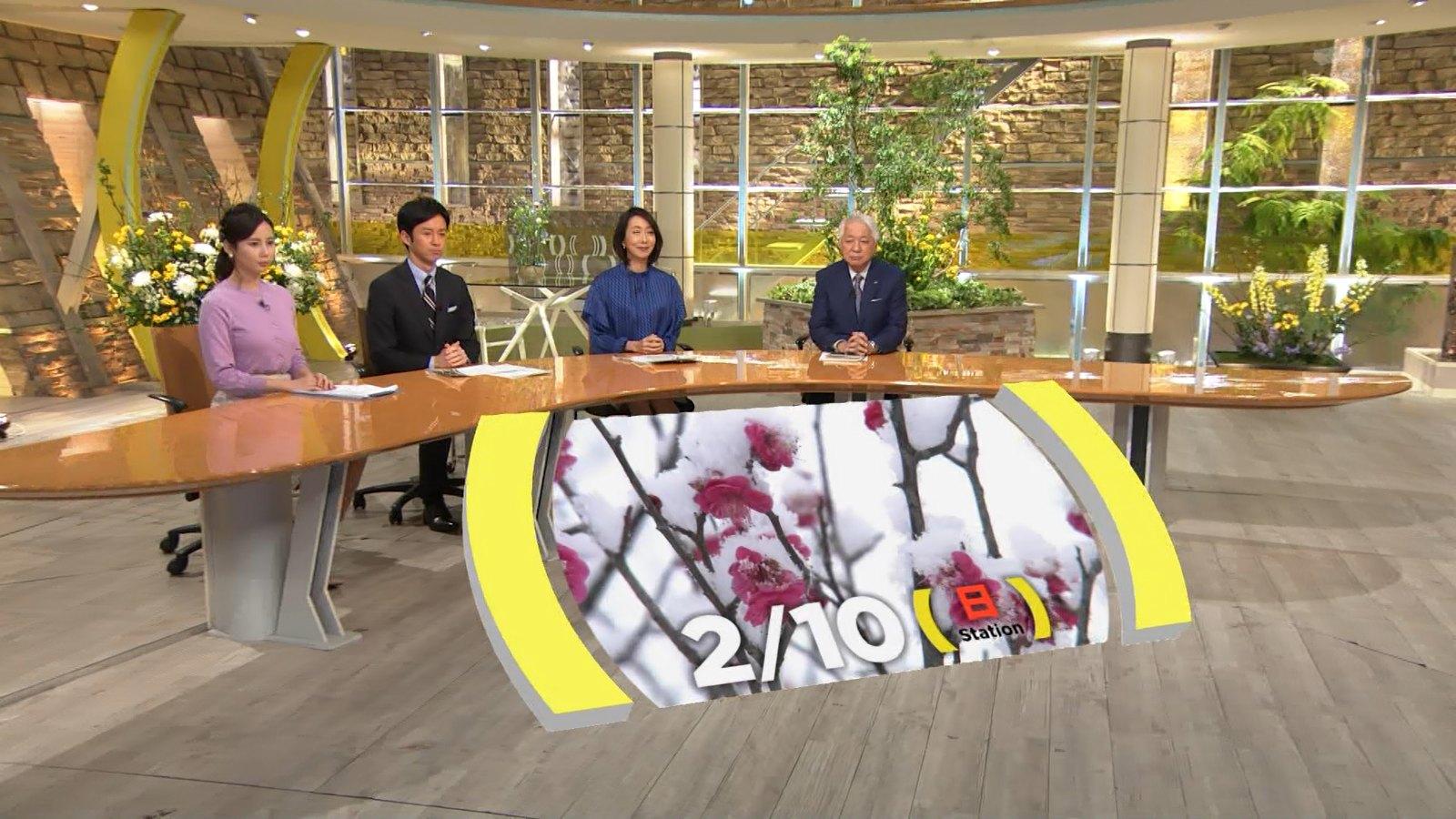 テレビ朝日女性アナウンサー・森川夕貴さんのテレビキャプチャー画像-049