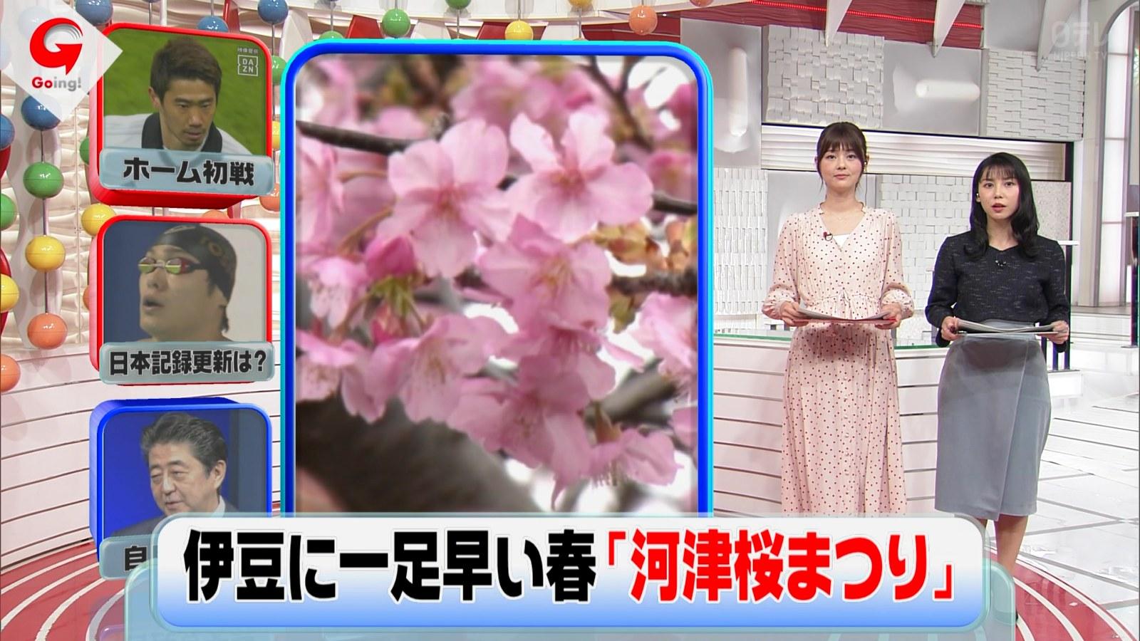 2019年2月11日「Going! Sports&News」トラウデン直美さんのテレビキャプチャー画像-106