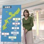 【画像】TBS・NEWS23の宇内梨沙さん、スポーツニュースの内容がぶっ飛ぶほどの露骨なニットおっぱい?
