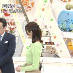 【画像】フジテレビ・永島優美さんの手のひらへの収まりがベストっぽいニットおっぱいの膨らみがいやしなめざましテレビ😻
