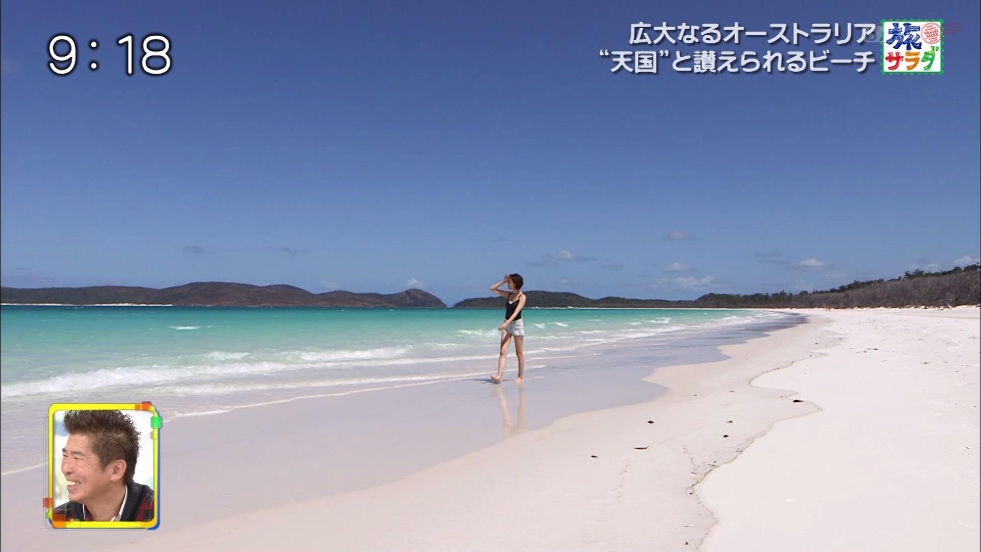 2019年2月23日テレビ朝日「旅サラダ」渡辺舞さんのテレビキャプチャー画像-061