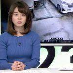 【画像】NEWS23の皆川伶奈さん、青いニットがエッチに膨らむ着衣おっぱいで週末の夜を彩る?