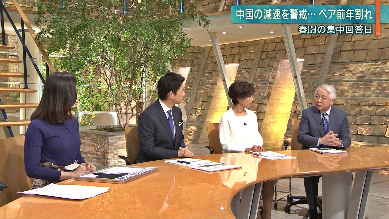 2019年3月13日「報道ステーション」森川夕貴さんのテレビキャプチャー画像-027