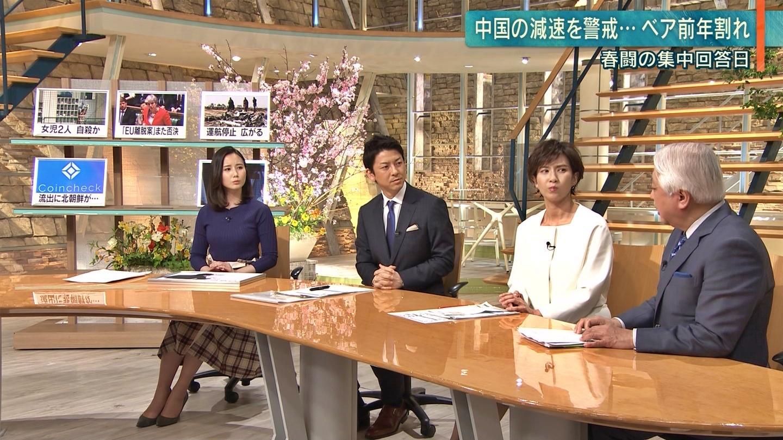 2019年3月13日「報道ステーション」森川夕貴さんのテレビキャプチャー画像-025