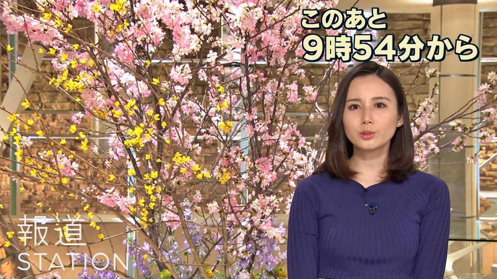 2019年3月13日「報道ステーション」森川夕貴さんのテレビキャプチャー画像-003
