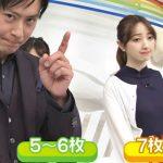 【画像】ZIP!の團遥香さんのおっぱいがグイングイン前へ攻める?