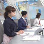 【画像】テレビ東京・モーニングサテライト、朝っぱらからめちゃめちゃおっぱい😍