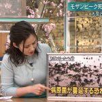 報道ステーション・森川夕貴さんのめちゃめちゃ生々しいおっぱいの膨らみ方😍エッッッッ