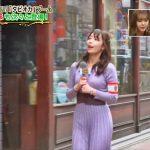 【画像・GIF】女子アナ・宇垣美里さん、スカートが下半身に張り付いたりおっぱいの形がこんもりしたり何かとエチエチ😍