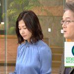 【画像】ニュースウォッチ9・桑子真帆さんのエッチすぎるおっぱいの存在感😍