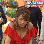 【画像】なにわのブラックダイヤモンド・橋本梨菜さん、関西ローカルの深夜番組でも日焼けおっぱいサービス?
