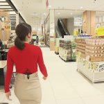 【画像】みんなのニュース・報道ランナーの薄田ジュリアさん、ニットおっぱいとパツパツお尻でスーパーを闊歩?