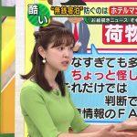 【画像】ABCテレビ「キャスト」津田理帆さんのニットおっぱいの膨らみがエッッッ?