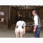 【画像】ABCテレビ「キャスト」の津田理帆アナウンサー、桃みたいなワレメくっきりお尻😍
