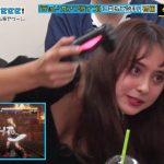 【画像】「有吉ぃぃeeeee!」の石田ニコルさん、対決に熱中しすぎておっぱいがデッドオアアライブ?