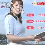 【画像】めざましテレビお天気キャスター・阿部華也子さん、おっぱいがスバラC???