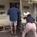 【画像】MBSで藤林温子さんのちょっとパン線が見えちゃってる無防備に突き出されたお尻?