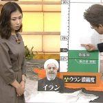 【画像】ニュースウオッチ9の桑子真帆さん、立ってるだけでおっぱいの膨らみとか色々エチチ?