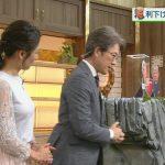 【画像】NHK桑子真帆さんの横乳のパツパツ感がエチエチなおっぱいニュース?