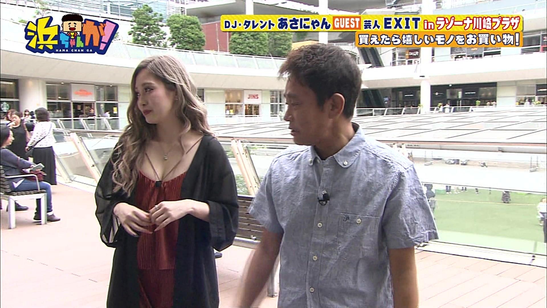 2019年7月17日「浜ちゃんが!」あさにゃんさんのテレビキャプチャー画像-113