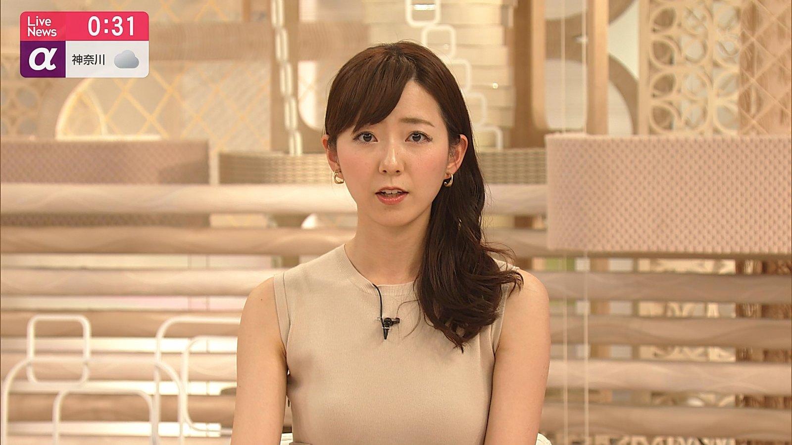 2019年7月19日「FNN Live News α」内田嶺衣奈さんのテレビキャプチャー画像-257