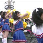 【画像・GIF】夏の甲子園は県予選でもスタンドのエチエチチアガールに大注目?